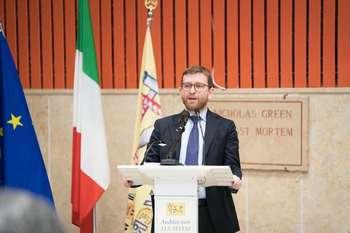 Giuseppe Provenzano - Photocredit: Ministero per il Sud