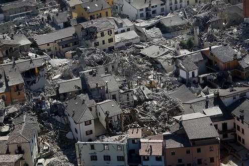 Terremoto - fonte: Sito del Dipartimento della Protezione Civile - Presidenza del Consiglio dei Ministri